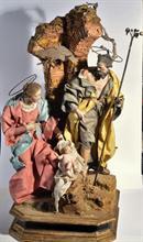 Lotto 159 - Sacra Famiglia attr. a C. Celebrano