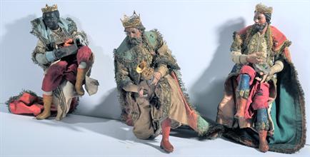 Lotto 161 - Gruppo dei tre Re Magi