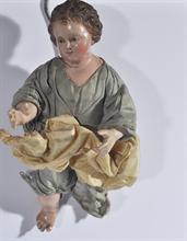 Lotto 173 - Bambin Gesù attr. a O. Schettino