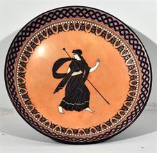 Lotto 305 - Alzatina in ceramica inizi XIX secolo