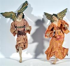 Lotto 160 - Coppia di angeli scuola di S. Franco