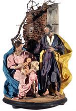 Lotto 14 - Natività cerchia di L. Mosca (Giuseppe e Maria)