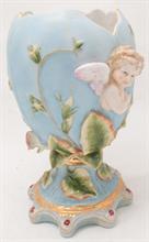 Lotto 18 - Vaso in Porcellana di Capodimonte