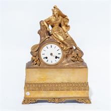 Lotto 39 - Orologio in bronzo dorato