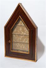 Lotto 58 - Teca in legno e vetro
