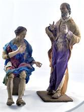 Lotto 134 - San Giuseppe e Madonna