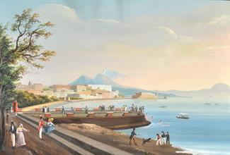Lotto 35 - Scuola napoletana del XIX secolo