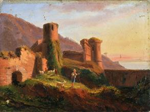 Lotto 55 - Scuola di Posillipo (XIX secolo)