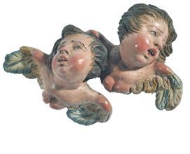 Lotto 130 - Coppia di Cherubini, att. N. Somma