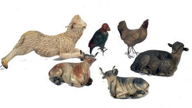 Lotto 162 - Gruppo di animali