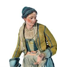 Lotto 201 - Giovane donna rustica, att. N. Ingaldi